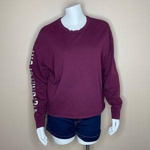 Victoria's Secret Sport Maroon Sweatshirt